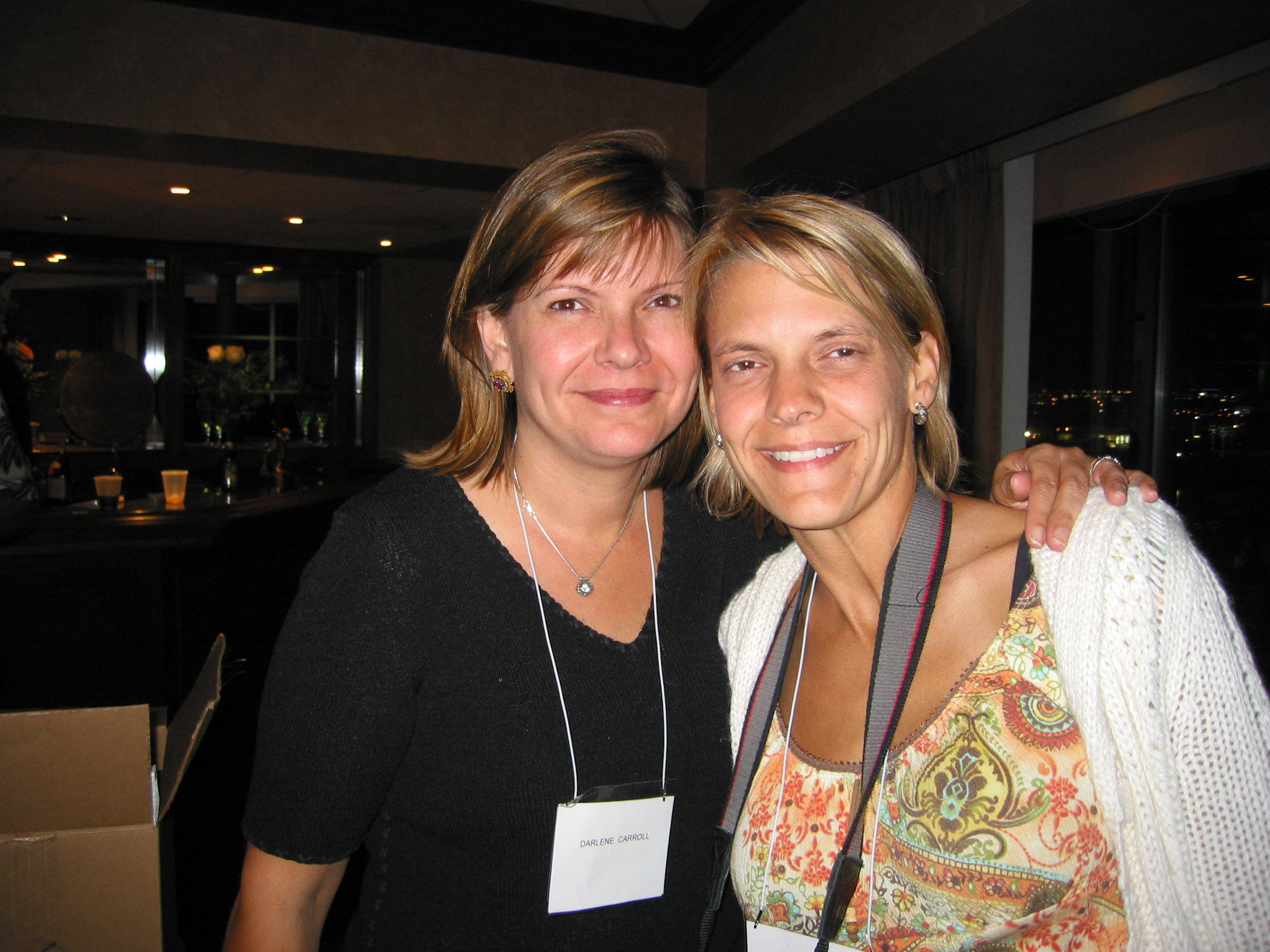 Darlene Carroll & Susan Viele, Pat Carroll's daughters